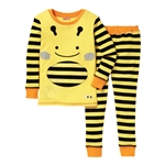 Zoojamas Little Kid Pajamas Bee 3T (Skip Hop)