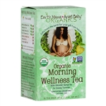 Organic Morning Wellness Tea - 16 Tea Bags (Earth Mama Angel Baby)