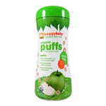 Organic Apple Puffs 6 Pack - 6x2.1 oz (Happy Baby)