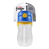 Foogo Plastic Straw Bottle Blue - 11 oz. (Thermos)