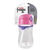 Foogo Plastic Straw Bottle Pink - 11 oz. (Thermos)