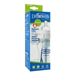 Natural Flow Wide-Neck Bottle - 8 oz. (Dr. Brown's)