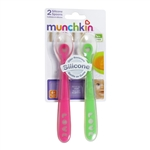 Silicone Spoons - 2 pack (Munchkin)