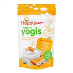 Organic Yogis Banana Mango 8 pack - 1 oz. (Happy Baby)