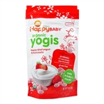 Organic Yogis Strawberry 8 Pack - 1 oz (Happy Baby)