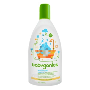 Bubble Bath Fragrance Free - 20 oz. (Babyganics)