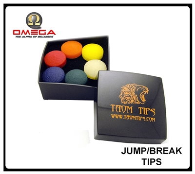 Taom Break Jump Cue Tip Billiard Cue Tip