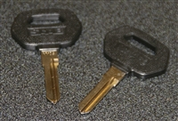 Genuine Saab 900 Key Blanks (Sold as a pair)