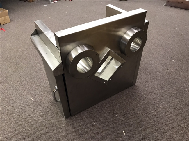 Custom L Block for Telemanipulators