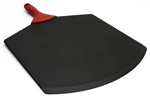 "epicurean 21"" x 14"" black pizza peel with red handle"