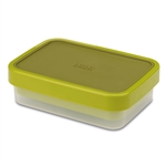 joseph joseph green goeat compact 2-in-1 lunch box