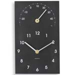 ashortwalk eco clock & thermometer