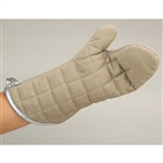 gilberts pair of beige 10in flameguard mitts