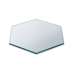 rosseto 14in diameter clear acrylic small honeycomb surface