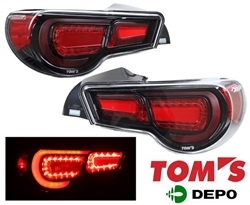 2013-16 Scion FRS / Subaru BRZ LED Tailight (TOM's) -Clear