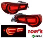 2013-16 Scion FRS / Subaru BRZ LED Tailight (TOM's) - Red
