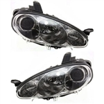 01-05 Mazda Miata Headlight - Chrome