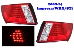 2008-14 Subaru Impreza Sedan 4DR LED Taillight