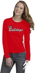 Bulldogs Womens LS Tee