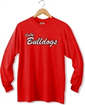 Bulldogs LS Mens/Womens Tee