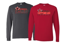 Copperheads Long Sleeve Mens tee
