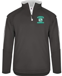 Carolina Spinners Men's Pro Heather Fleece 1/4 Zip