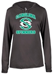 Carolina Spinners L/S Women's Hood Tee