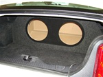 2005-2010 Mustang Subwoofer Box
