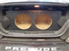 1997-2001 Honda Prelude Subwoofer Box single/dual subwoofer
