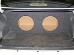 Honda Accord Coupe or Sedan Subwoofer Box