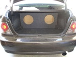 Lexus IS300 Subwoofer Box