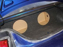 Ford Mustang Subwoofer Box
