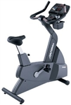 Life Fitness 9500HR Next Generation Upright Bike Image