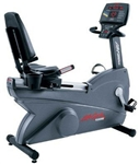 Life Fitness 9500HR Next Generation Recumbent Bike Image