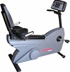 Life Fitness 9500HR Recumbent Bike Image