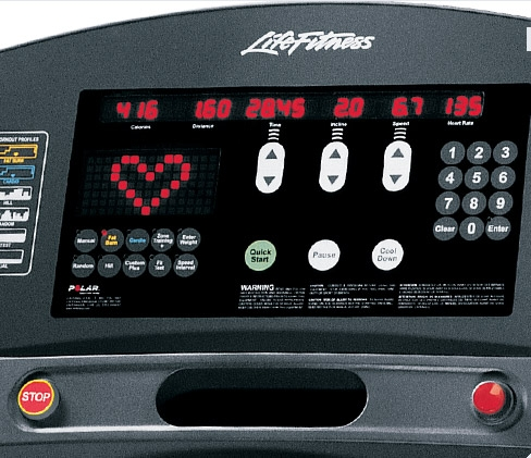 Buy Lifefitness 95ti Treadmill Refurbished For Sale