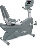Life Fitness Club Series Recumbent Bike Image