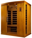 GoldenDesigns DYN-6310-02 Madrid II Edition Dynamic Sauna | Image
