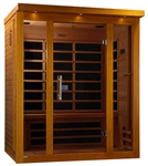 GoldenDesigns DYN-6315-01 Florence Edition Dynamic Sauna | Image