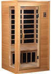 GoldenDesigns GDI-3106-01 Low EMF Far Infrared Sauna | Image