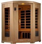 GoldenDesigns GDI-6235-01 Low EMF Far Infrared Sauna | Image