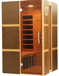 GoldenDesigns GDI-6240-02 Low EMF Far Infrared Sauna | Image