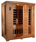 GoldenDesigns GDI-6444-01 Low EMF Far Infrared Sauna | Image