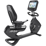Life Fitness Elevation Series Recumbent Lifecycle Exercise Bike with Discover SE Console-image