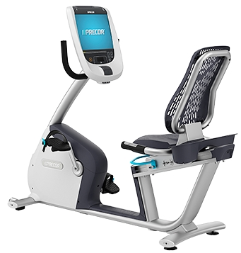 Precor Rbk 885 Recumbent Bike W P80 Console Exercise