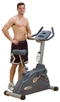 Body-Solid Endurance Electronic Upright Bike Image