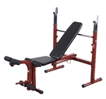 Body-Solid Best Fitness Oly Folding Bench Image