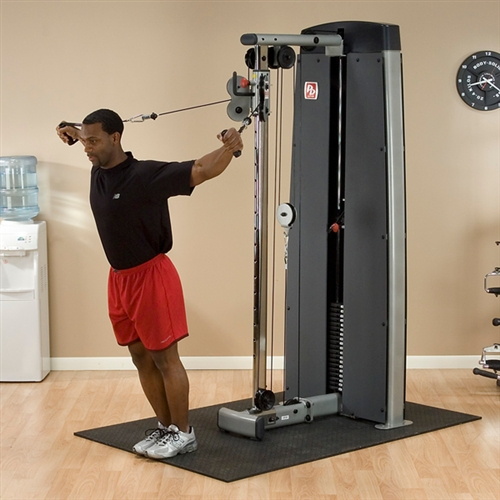 Body Solid Pro Dual Cable Column Machine Fitness Superstore