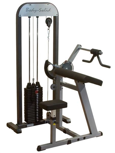 Body solid pro select biceps amp triceps machine fitness superstore