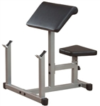 Body-Solid Powerline Preacher Curl Bench Image